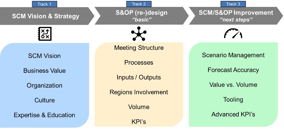 design and implement the IBP organization and structure